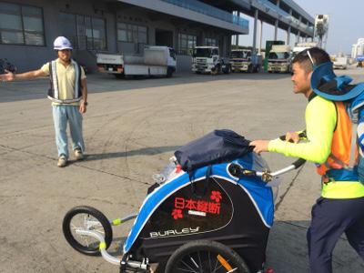 日本縦断の旅6日目鹿児島に上陸03