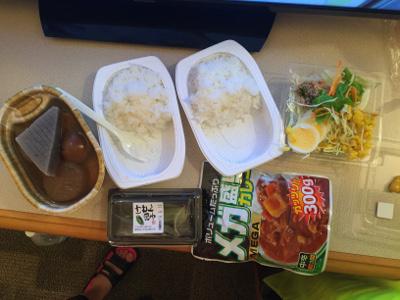 8日目の夕食