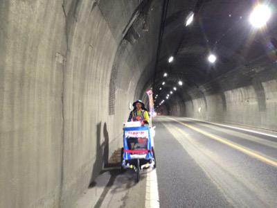 津奈木トンネル後半
