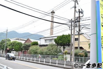 北九州の赤レンガの煙突
