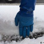 積雪10㎝までならなんとか歩けた