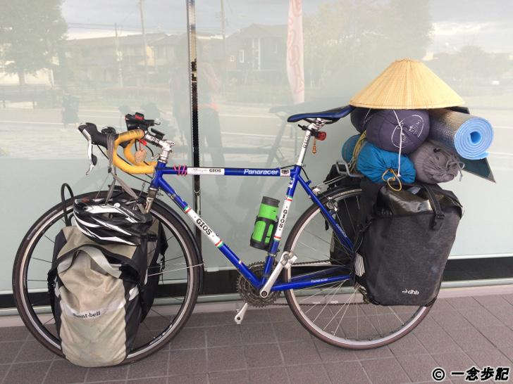 日本一周チャリダーの自転車