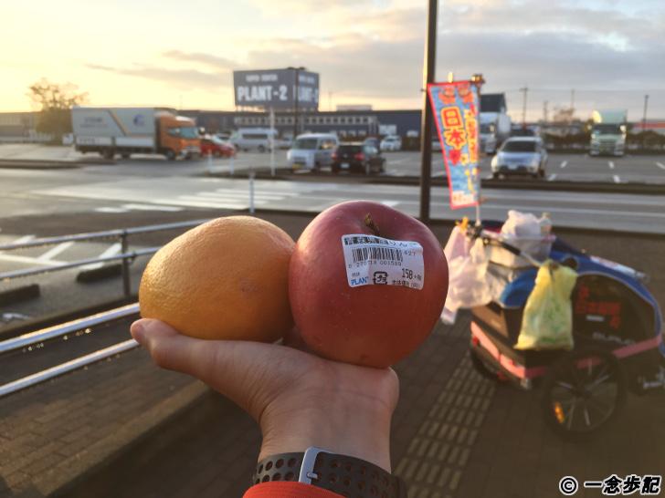 日本縦断144日目の朝食