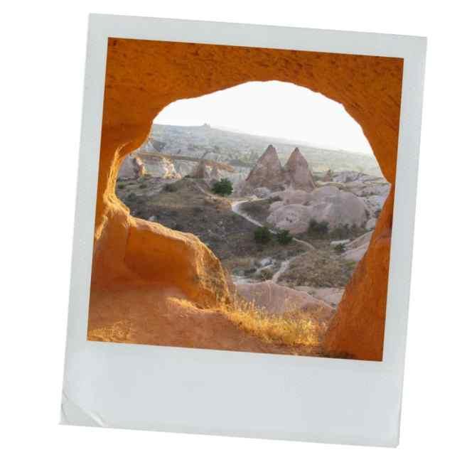 cappadoce, turquie, vallée rose, voyage, photographie