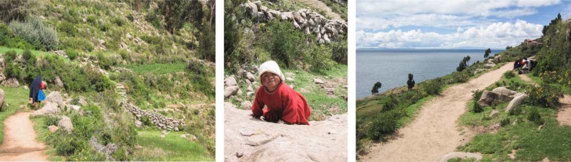 pérou, lac titicaca, taquile