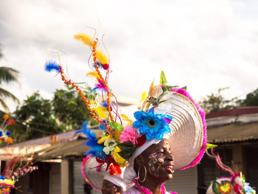 portraits, carnaval, guadeloupe