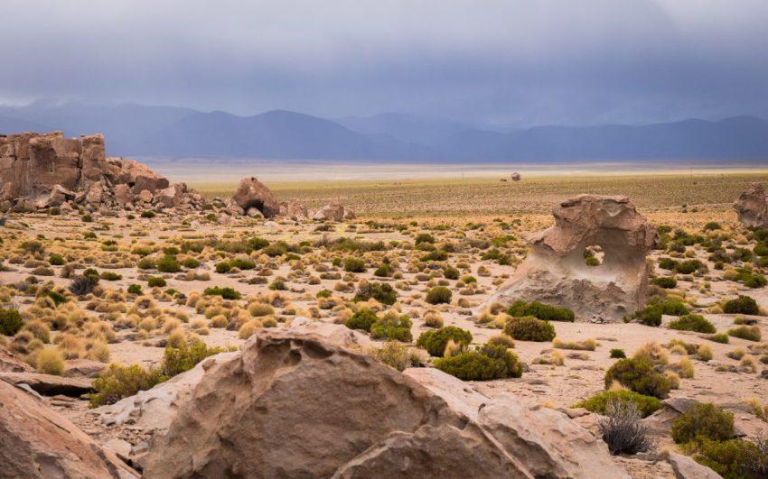 bolivie, altiplano, los lipez, valle de rocas