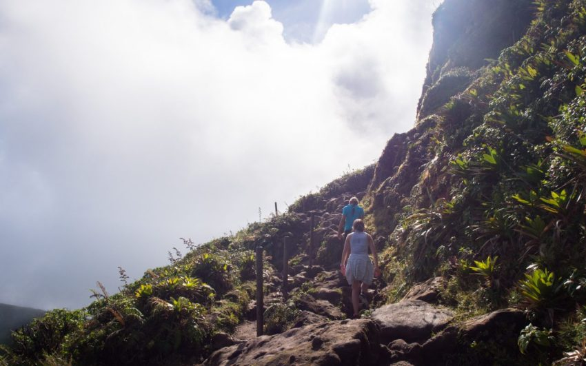 soufrière, volcan, guadeloupe