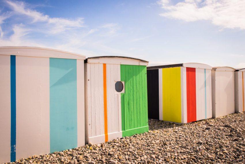 le havre, un été au havre, normandie, plages, cabanes, karel martens