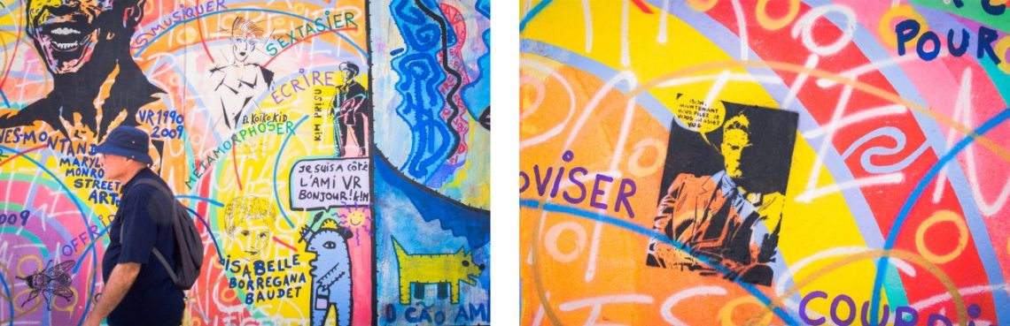 mur de berlin, east side galerie, berlin, allemagne