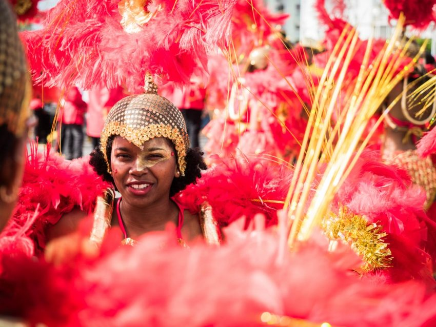 portrait, carnaval, guadeloupe