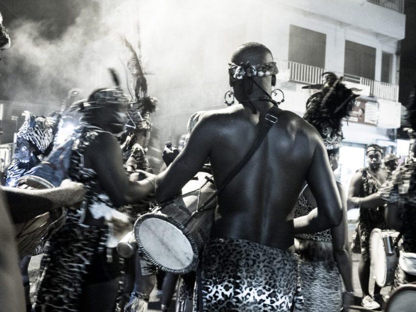 carnaval, guadeloupe, groupe à peau, gwoup a po, antilles