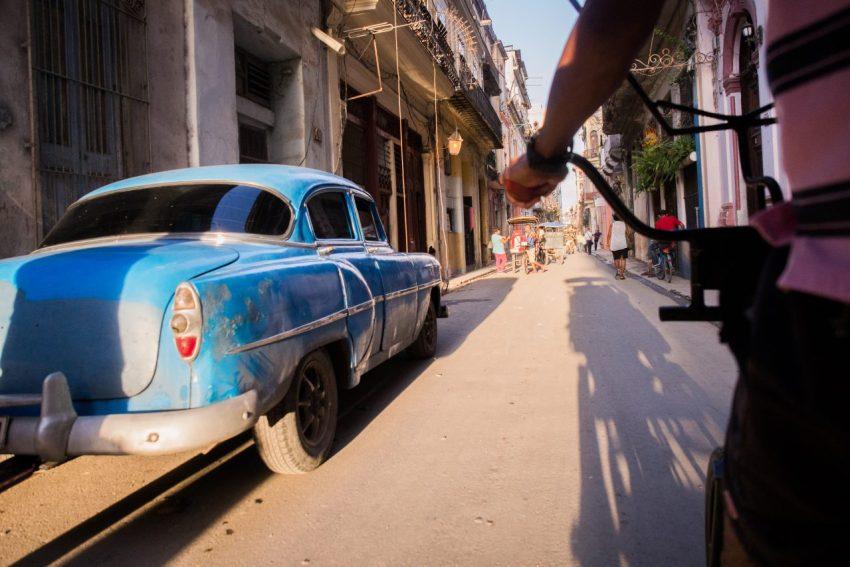 cuba, la havane, old car