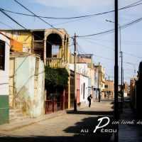 escapade d'un lundi, dans les rues au Pérou