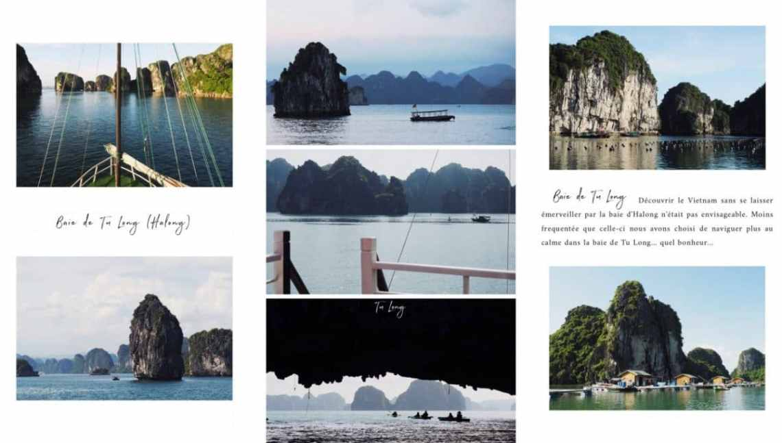 vietnam, baie d'halong, baie de bai tu long, asie, journal du vietnam