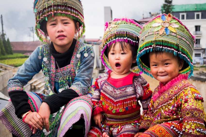 vietnam, ethnie minoritaire, sapa, portraits