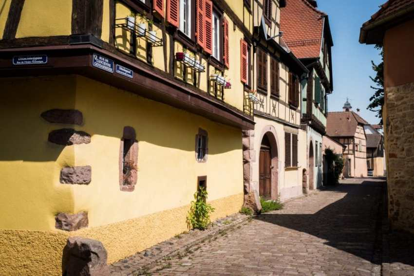 kaysersberg, route des vins, vosges, alsace