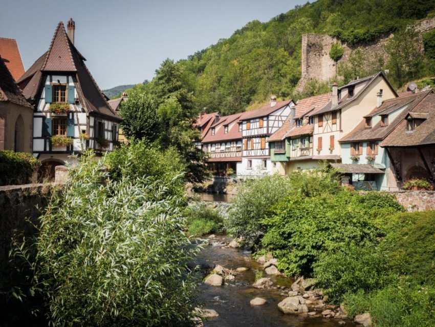 kaysersberg, route des vins, vosges, alsacekaysersberg, route des vins, vosges, alsace