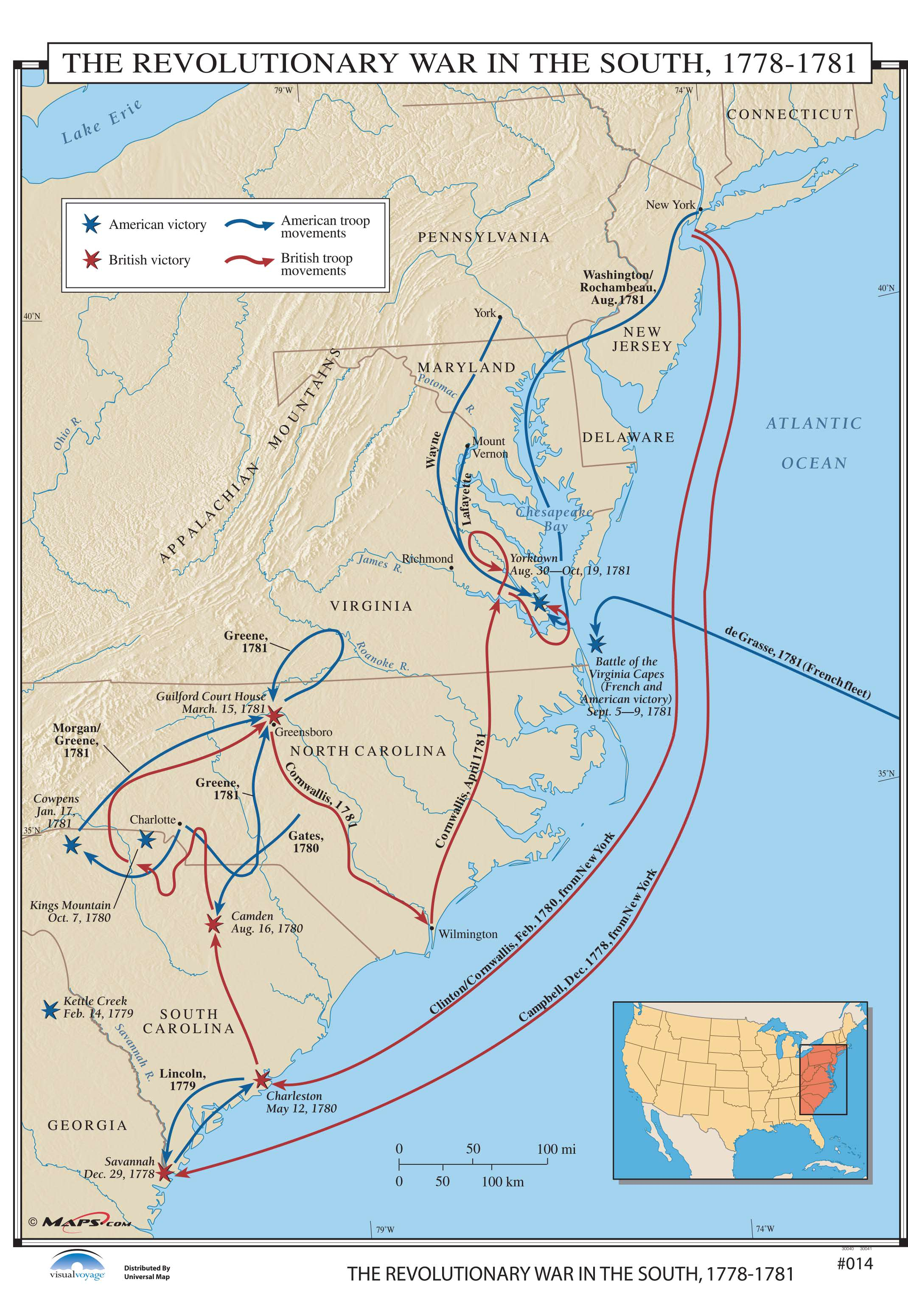 014 The Revolutionary War In The South On