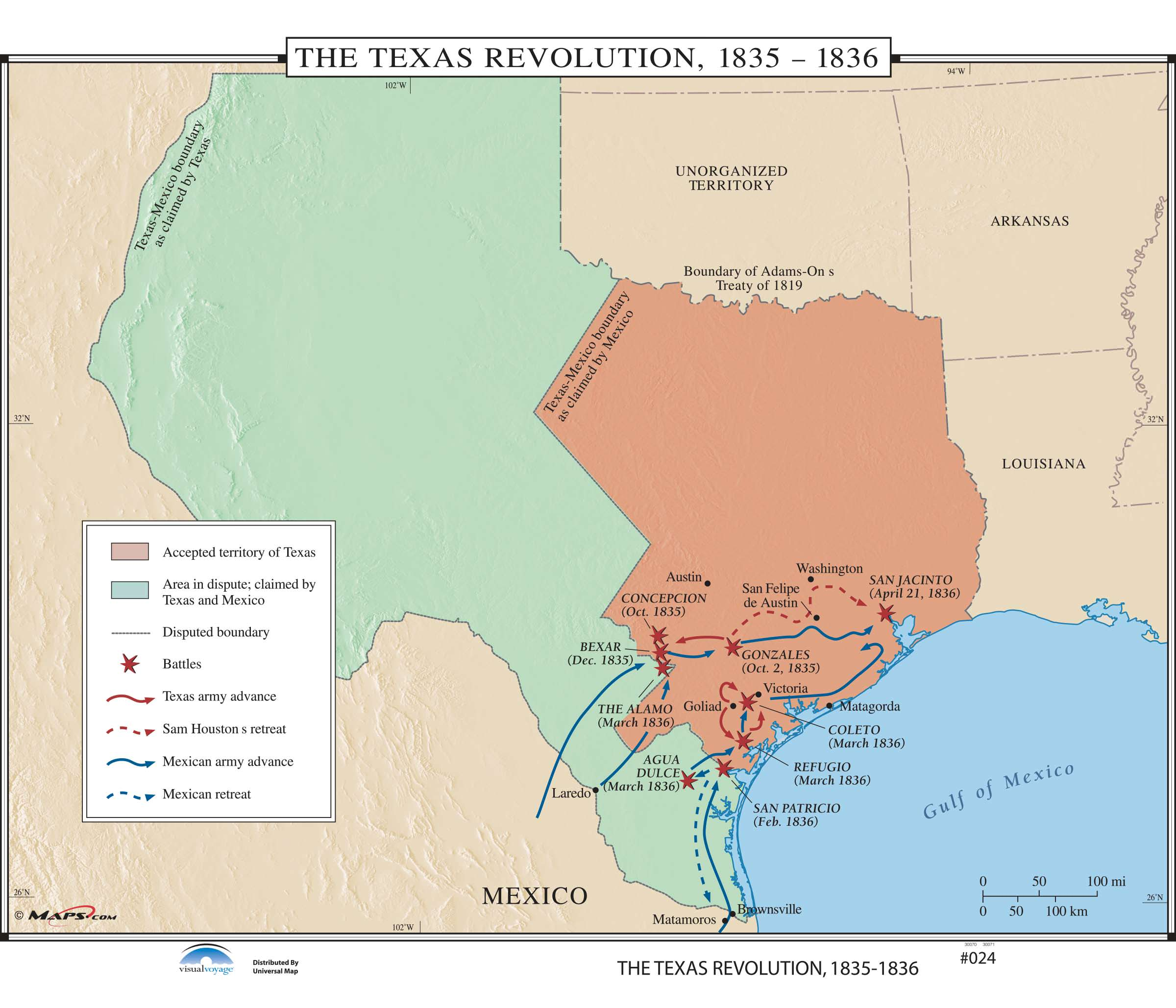 024 The Texas Revolution On Roller W