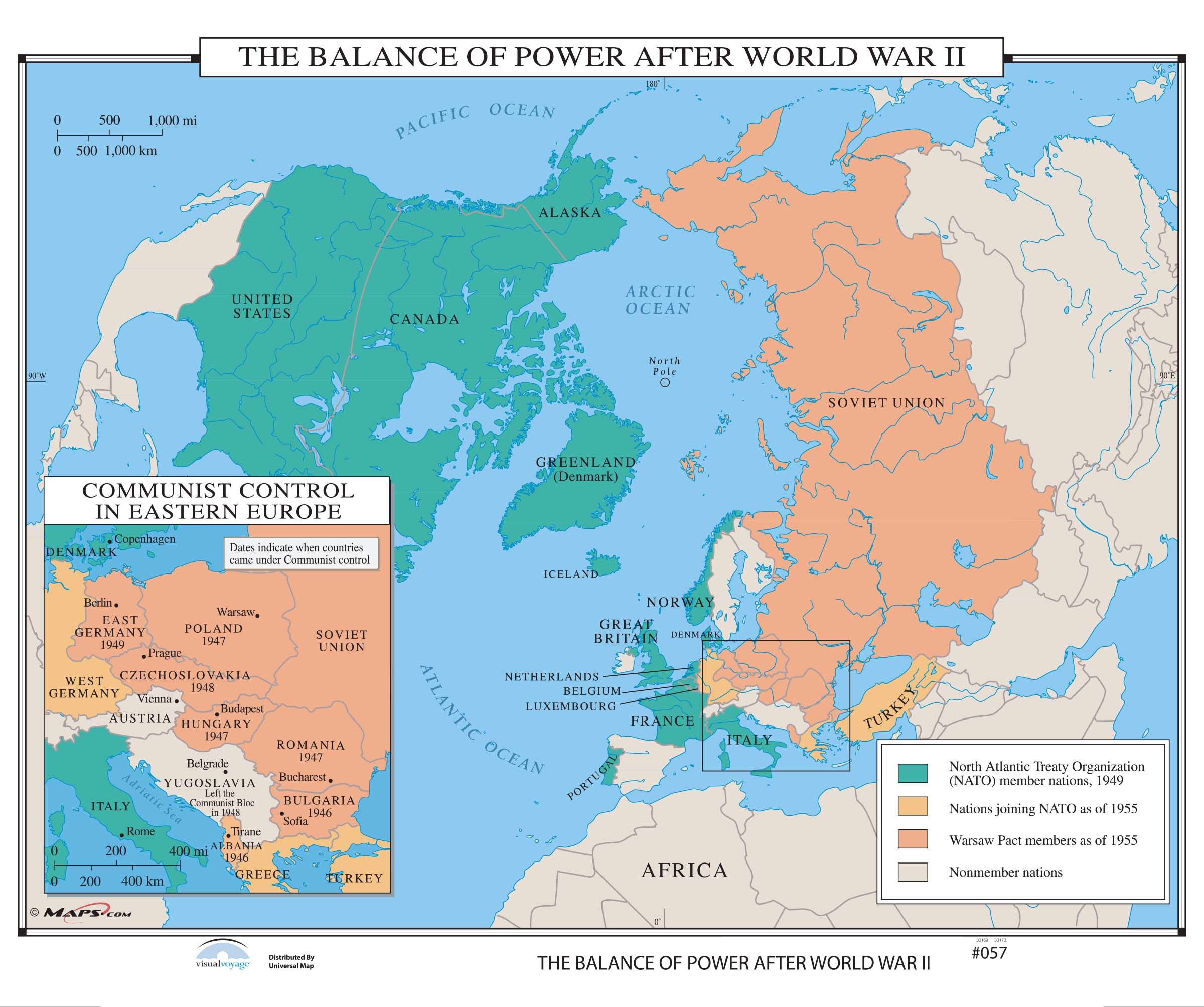 057 The Balance Of Power After World War Ii On Roller W