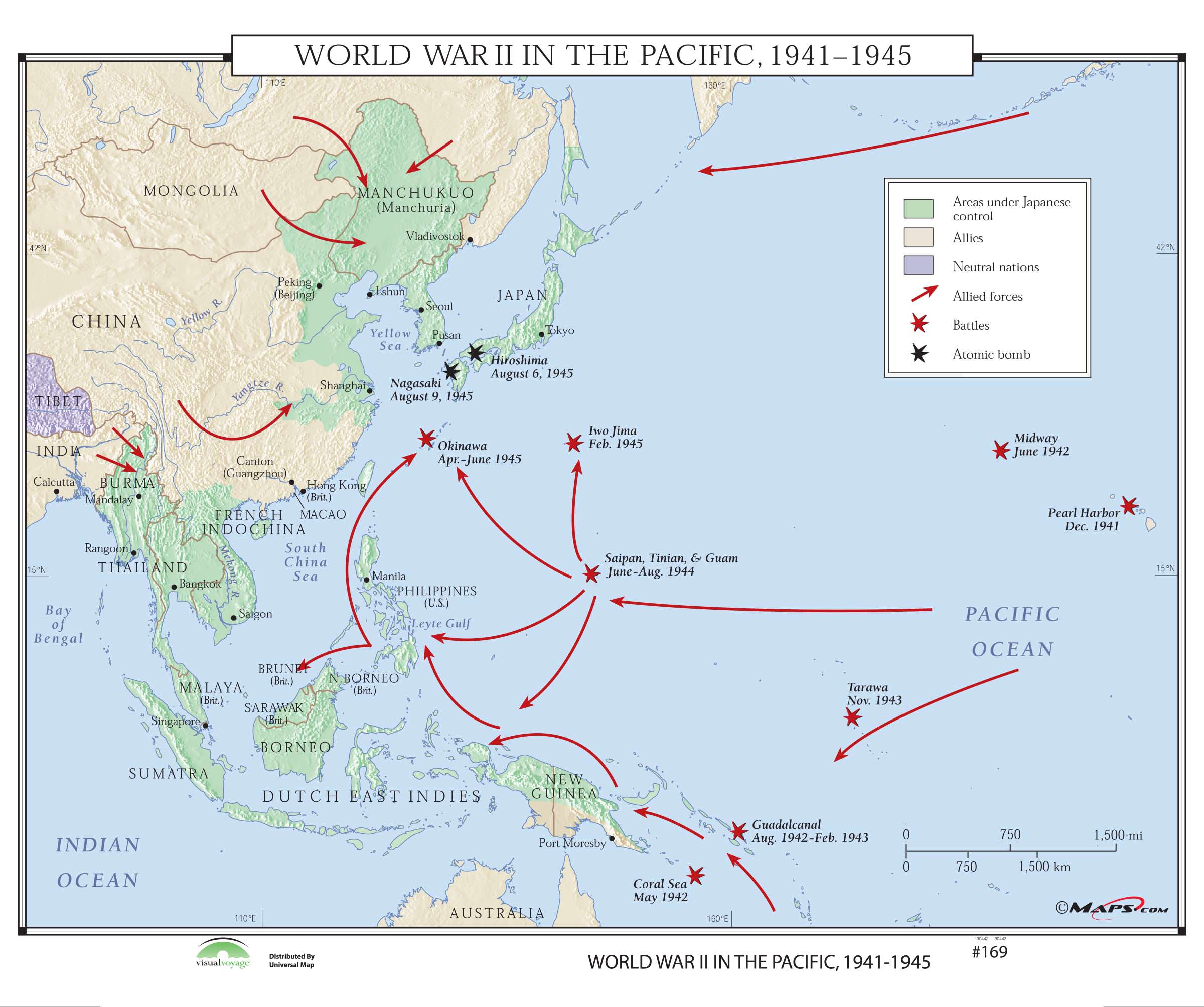 169 World War Ii In The Pacific On Roller W