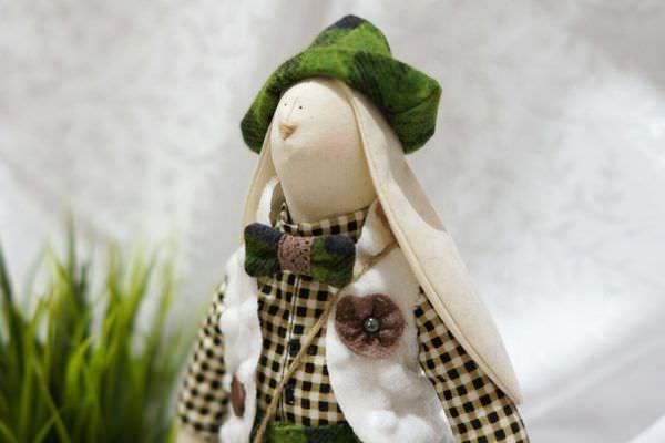 Заяц тильда выкройка с размерами 🥝 как руками сшить зайку ...