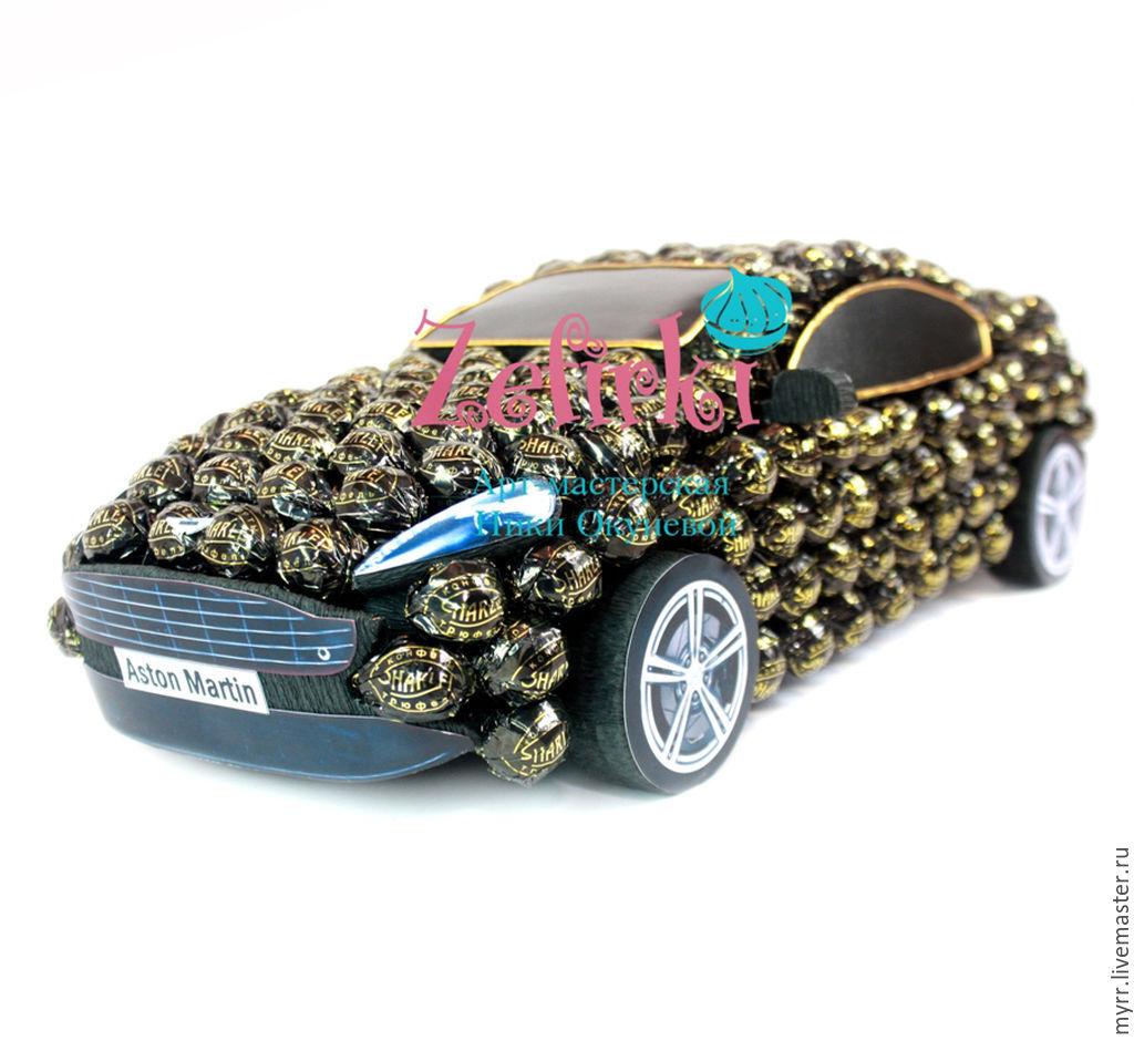 Картинки машины из конфет