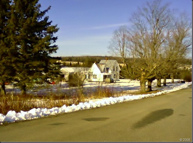 The homestead. November 2008.