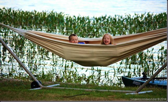 Twins hammock hideout - Abrams Pond 2014