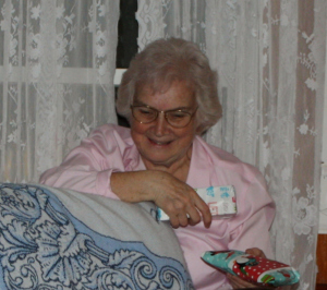 Grammy enjoys handing out the gifts