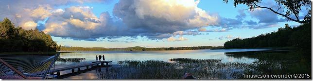 Abrams Pond Evening 2015