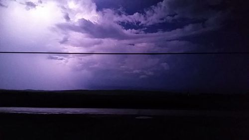 Watching for lightning in Hartland, NB. (C) 1inawesomewonder.