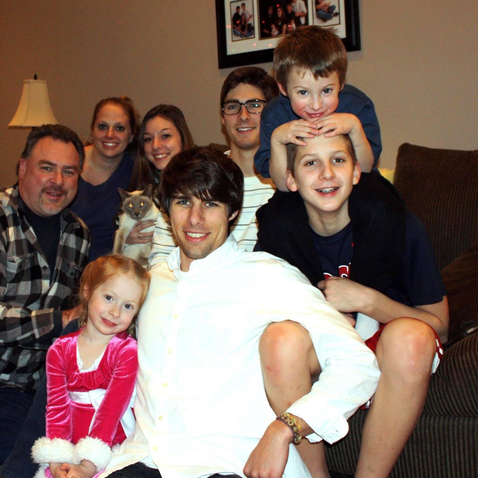 Family on my birthday