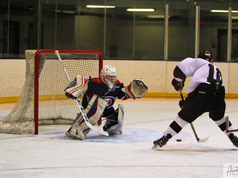 Hockey: Oyster River 2 at Goffstown 6