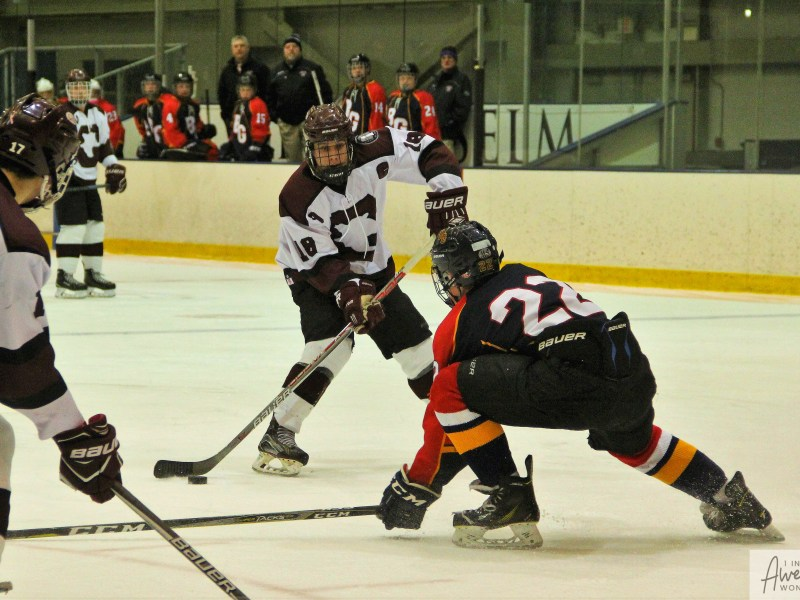 Hockey: Belmont-Gilford 1 at Goffstown 9