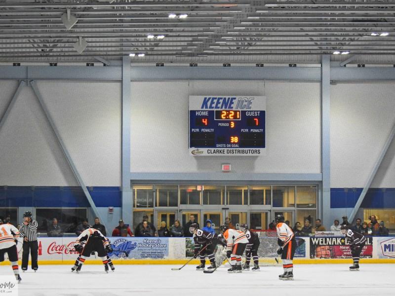 Hockey: Goffstown 7 at Keene 4