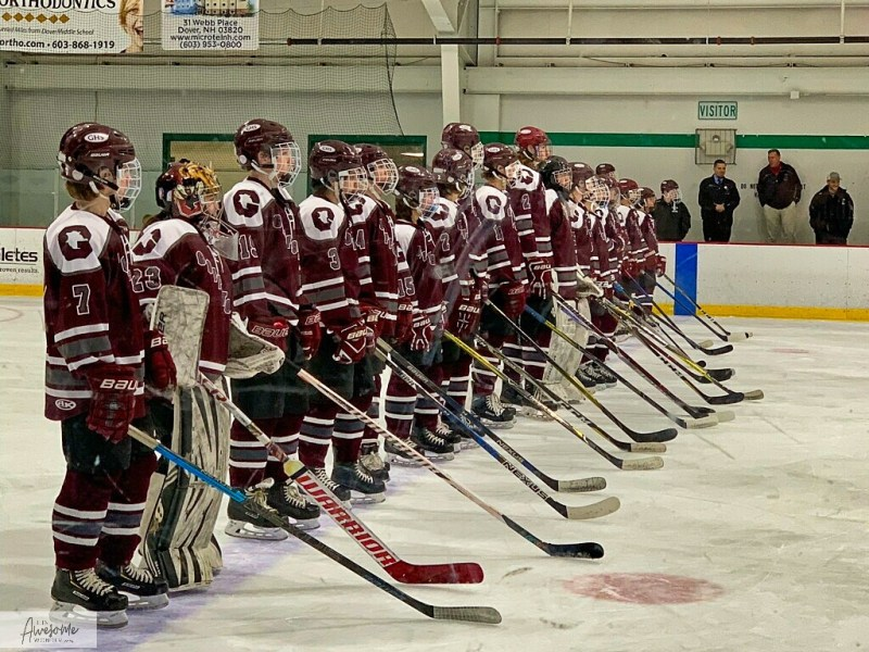 Hockey: Goffstown 2 at Dover 5