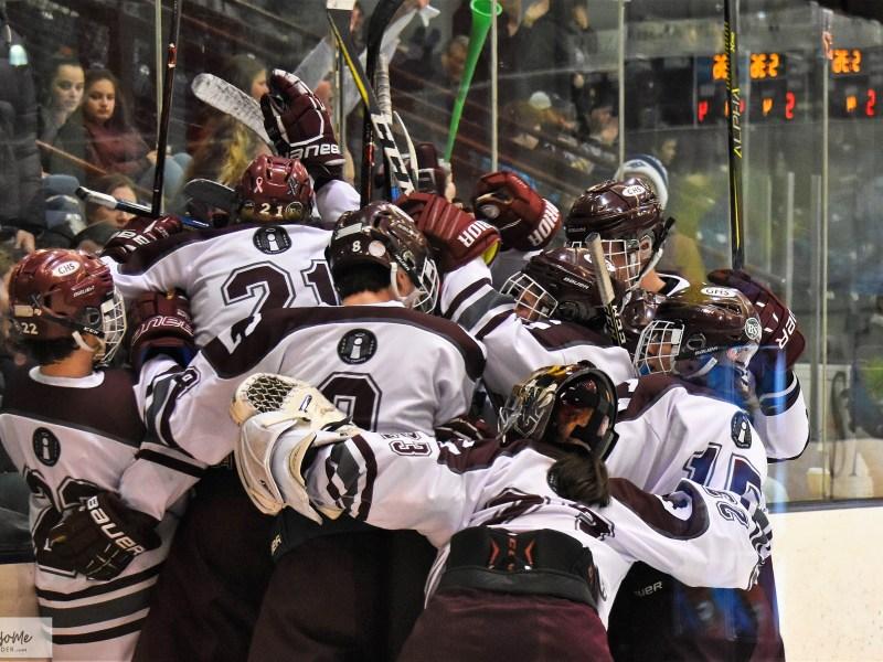 Hockey: Goffstown 5 vs. Oyster River 4 (OT)