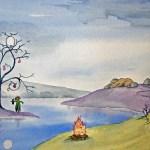 Minnie Birch - art for Emerald EP