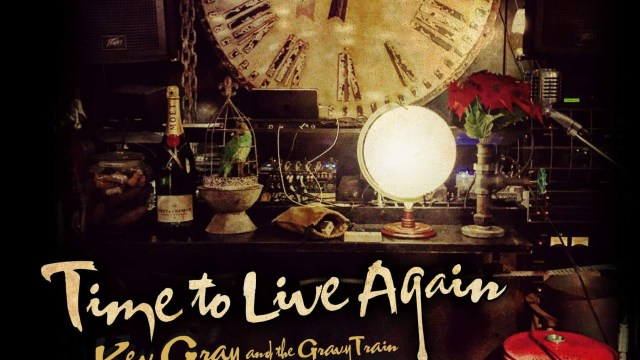 Time to live again - Single Cover - Kev Gray and The Gravy Train
