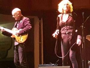 Zoe Schwarz Blue Commotion at The Huntingdon Hall Worcester 23 Nov 2019
