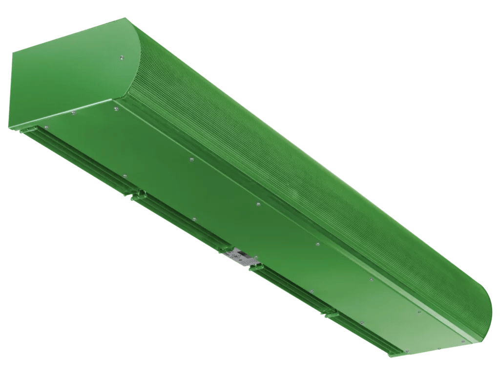 low profile air curtain architectural