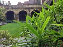 le jardin privé de Westminster Abbey
