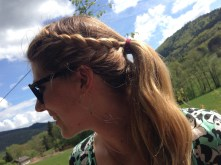 Tresse made by me, lunettes Persol
