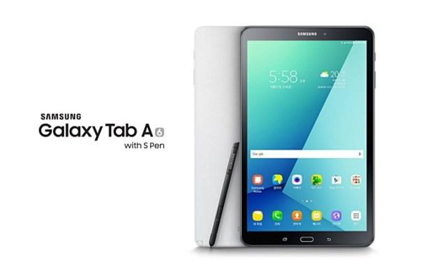 Samsung выпустила Galaxy Tab A со стилусом S Pen