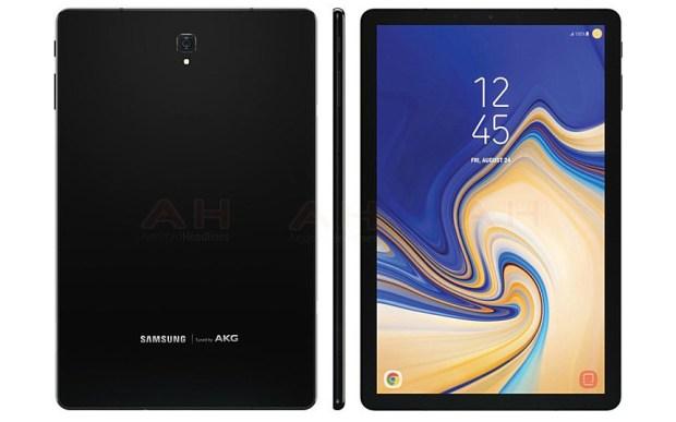 Samsung Galaxy Tab S4 попал