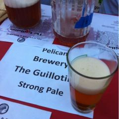110. Pelican Brewery – The Guillotine Strong Ale Draft