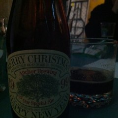 250. Anchor Brewing – 1999 Our Special Christmas Ale