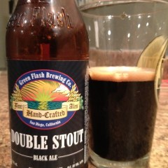 406. Green Flash Brewing – Double Stout Black Ale